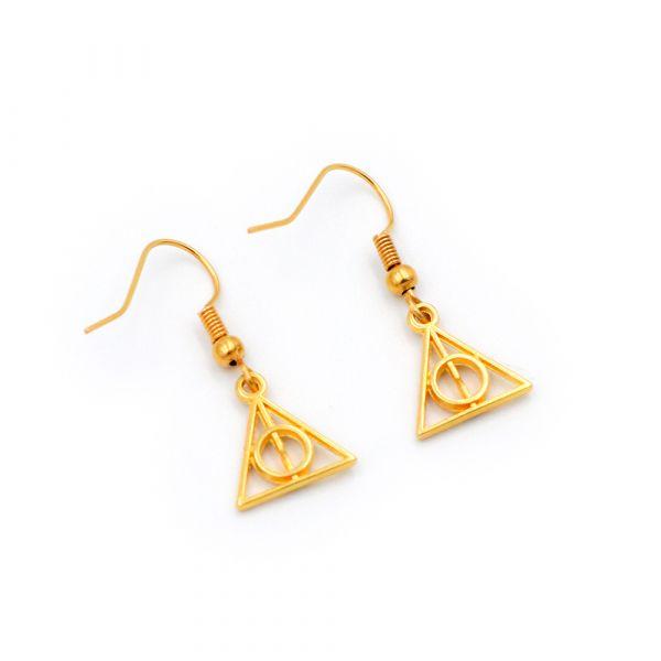 Χρυσά σκουλαρίκια Κλήροι του Θανάτου