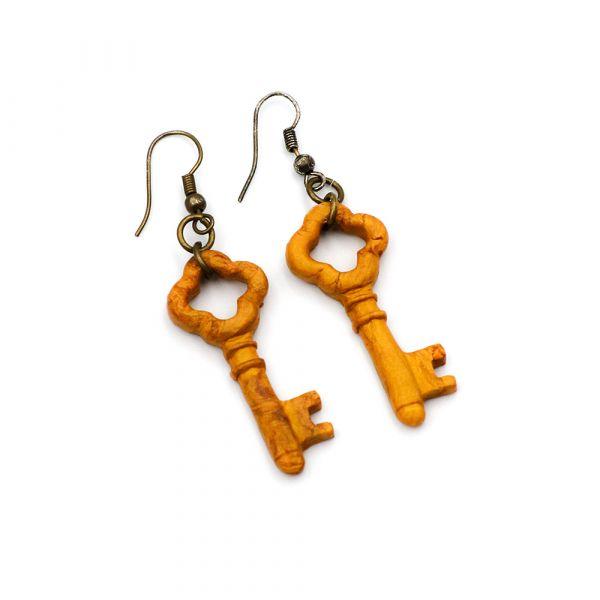 Χειροποίητα σκουλαρίκια Μαγικά Κλειδιά