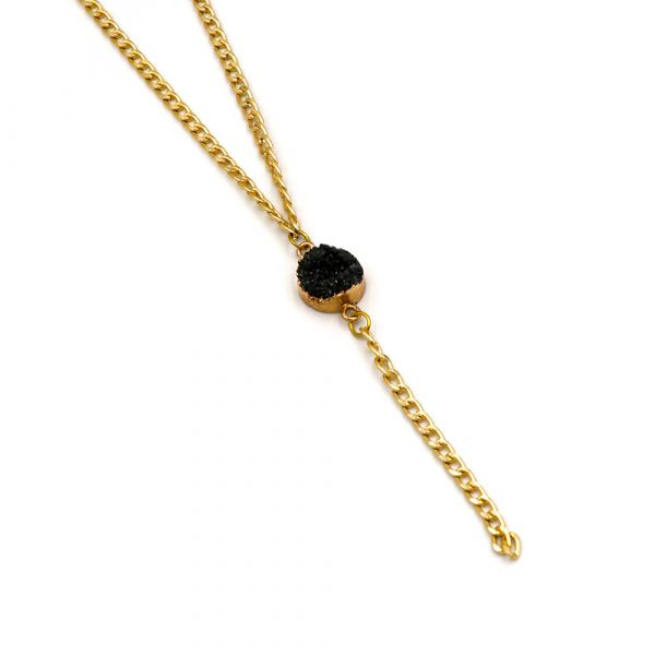 The Black Stone necklace