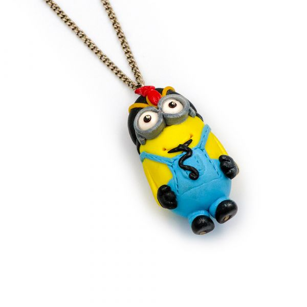 Handmade Minion-Jafar necklace