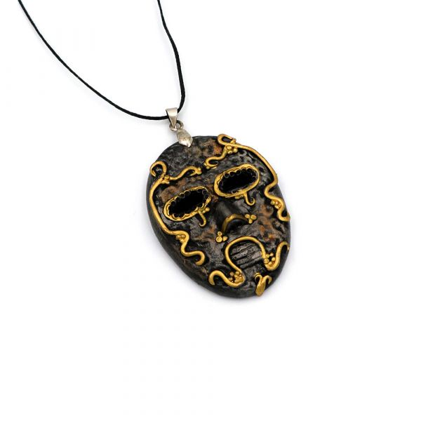 Handmade Death Eater Mask necklace
