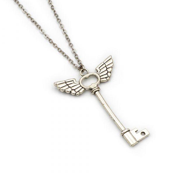 Flying Key necklace