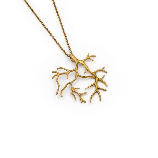 Golden Tree necklace