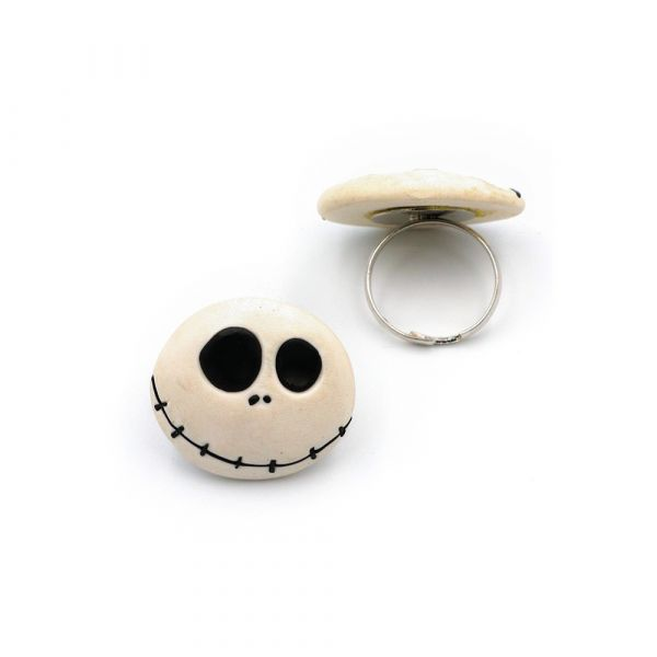 Handmade Jack Skellington  ring