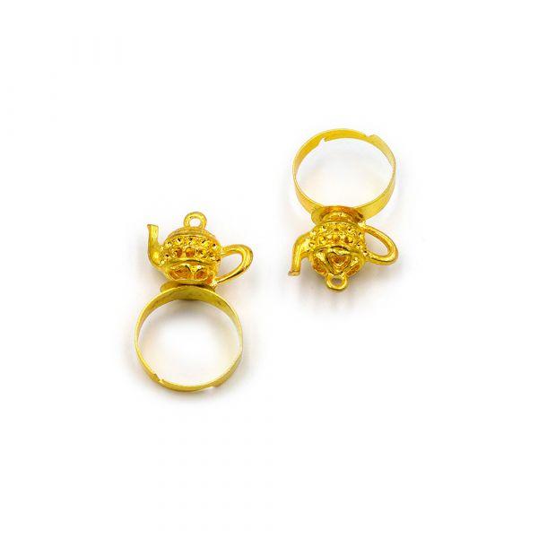 Golden Lamp ring