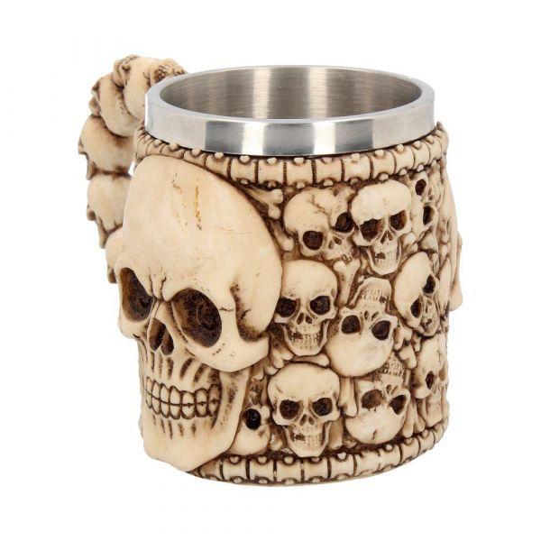 Tankard Of Skulls 17cm