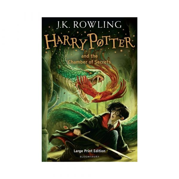 Harry Potter and the Chamber of Secrets-Large print hardback edition