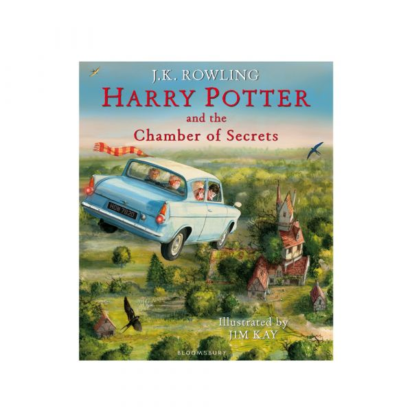 Harry Potter and the Chamber of Secrets-Illustrated hardback edition