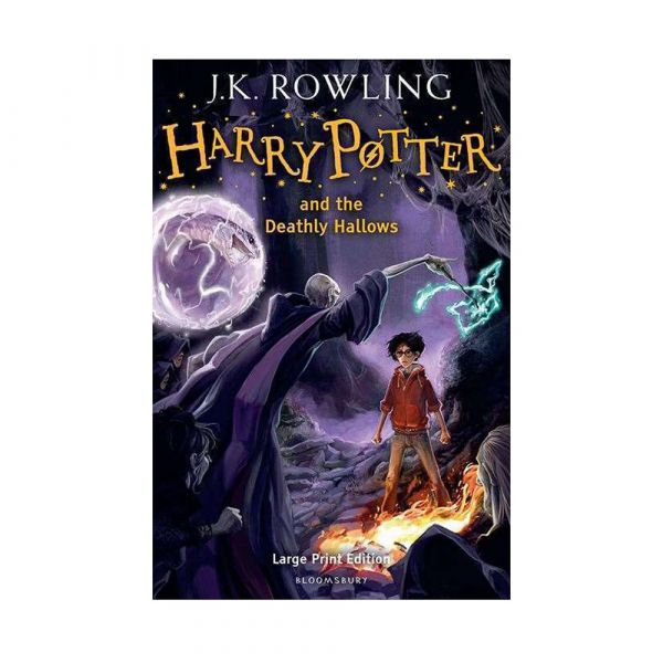 Harry Potter and the Deathly Hallows-Large print hardback edition