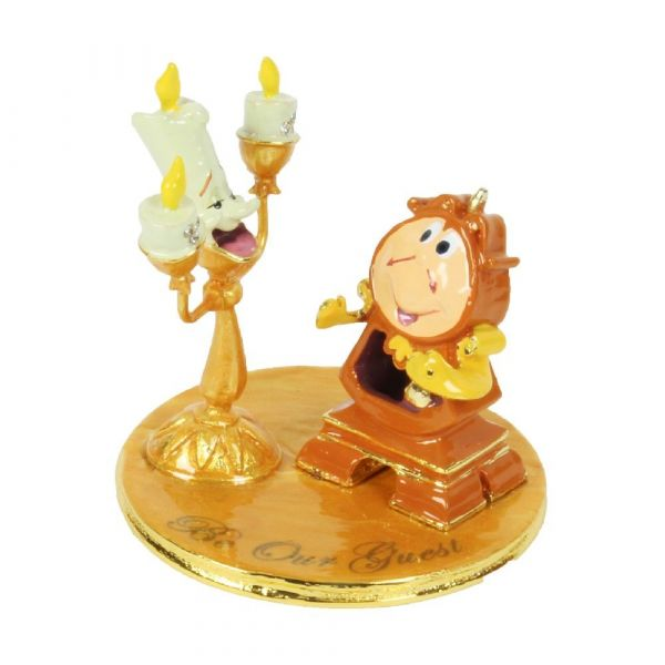 Disney Classic - Lumiere and Cogsworth Ornament
