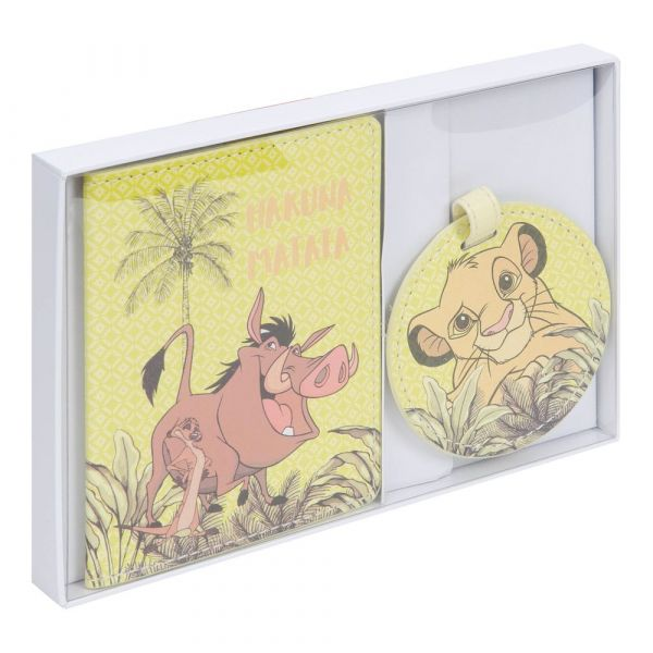 Disney Lion King Luggage Tag & Passport Cover