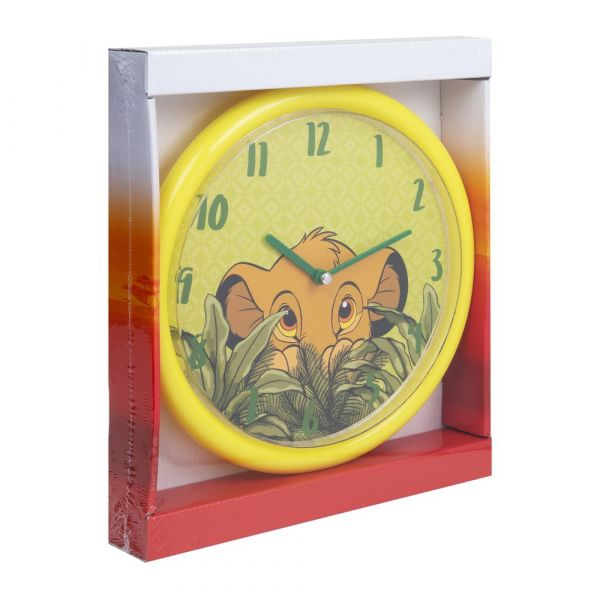 Disney Lion King Simba Wall Clock with Glow In The Dark Dial