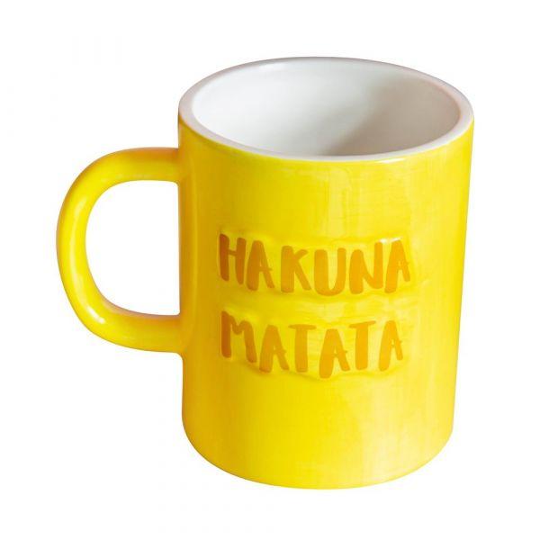 Disney Lion King Embossed Mug - Hakuna Matata