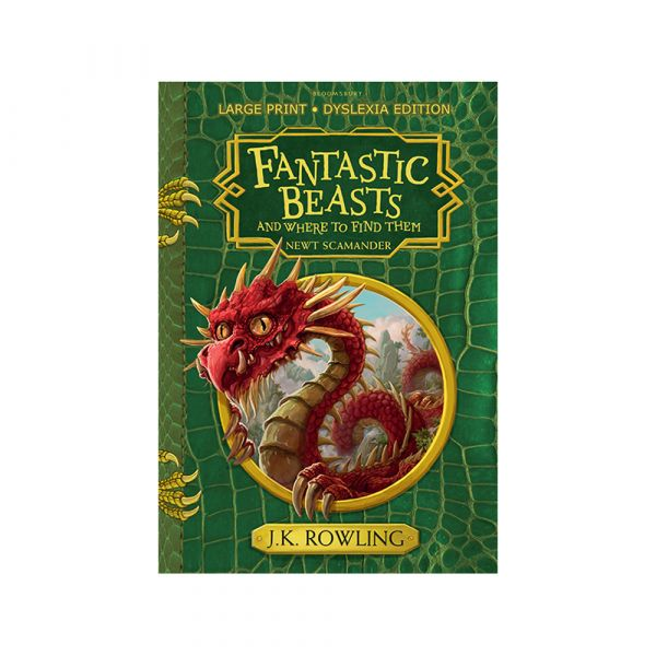 Fantastic Beasts and Where to Find Them-Dyslexia Hardback Edition