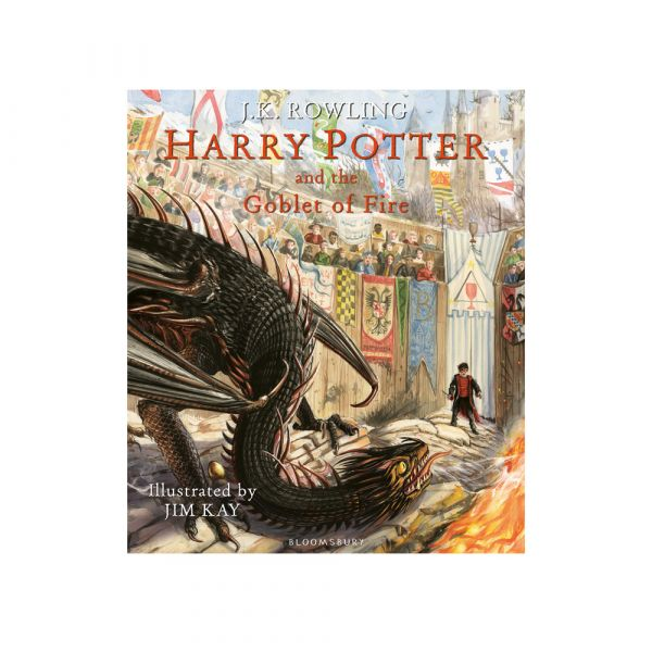 Harry Potter and the Goblet of Fire-Illustrated hardback edition