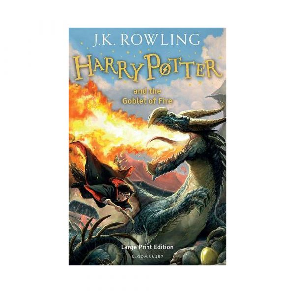 Harry Potter and the Goblet of Fire-Large print hardback edition