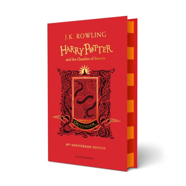 Harry Potter and the Chamber of Secrets-Gryffindor hardback edition