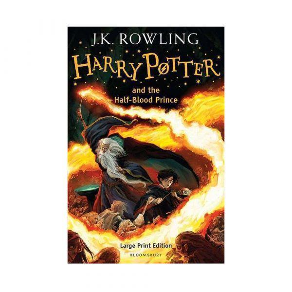 Harry Potter and the Half-Blood Prince-Large print hardback edition