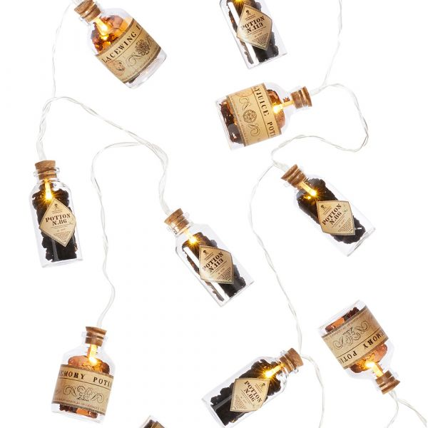 Harry Potter Light Garland Magic Potions Flasks