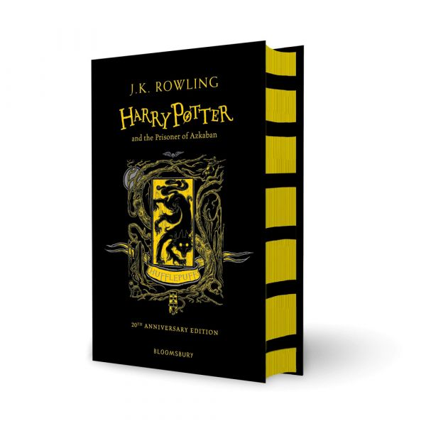 Harry Potter and the Prisoner of Azkaban-Hufflepuff hardback edition