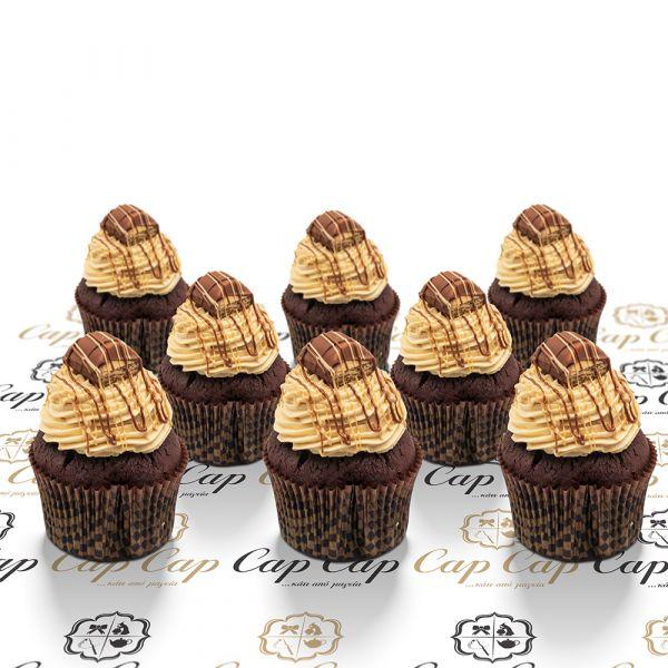 Bueno cupcakes (8 pc)