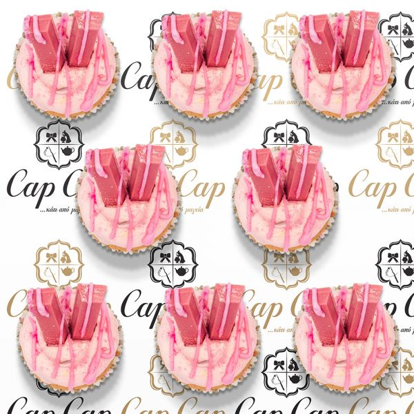 Pink Ruby Cupcakes (8 pc)