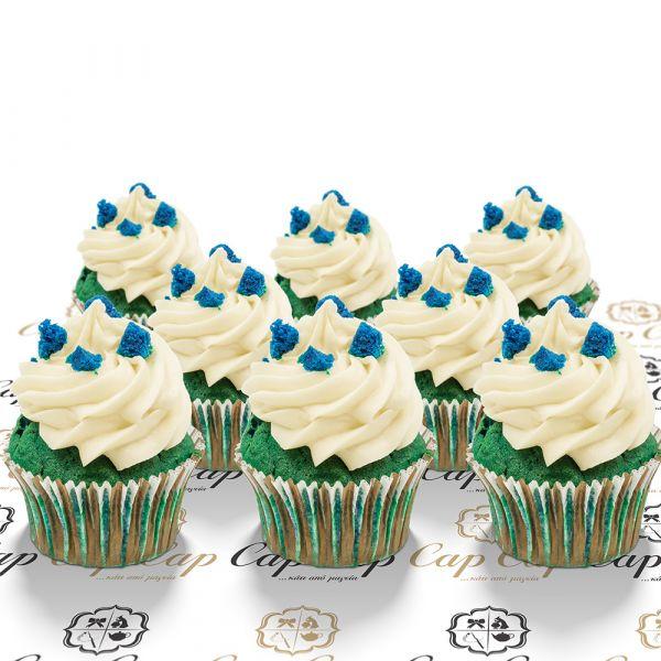 Blue Velvet cupcakes (8 τμχ)