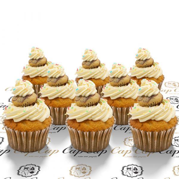 Mini cupcakes on a cupcake (8 pc)