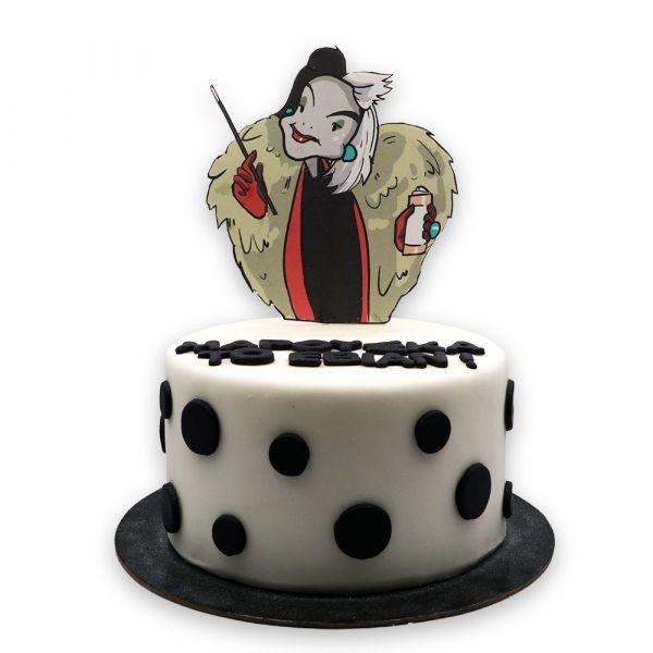 Dalmatian's Enemy Cake