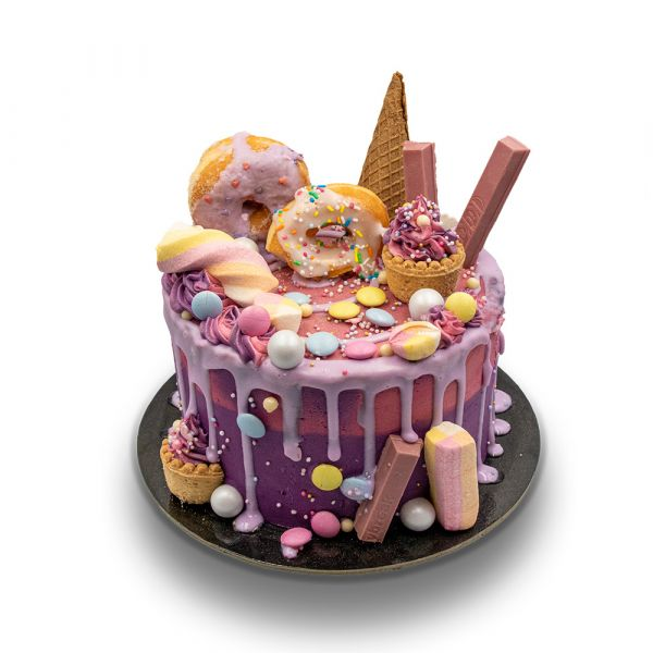 Candy Bomb Cake