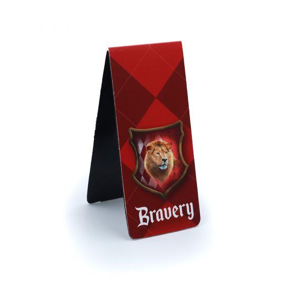 Magnetic Bookmark Bravery