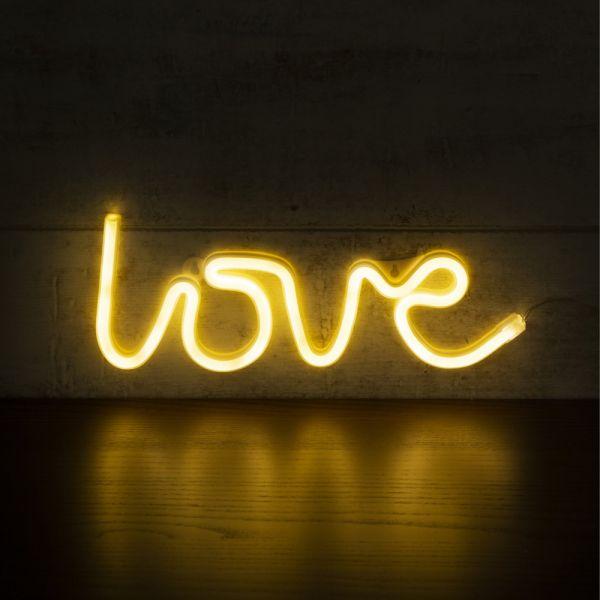 LED Neon Light Sign LOVE