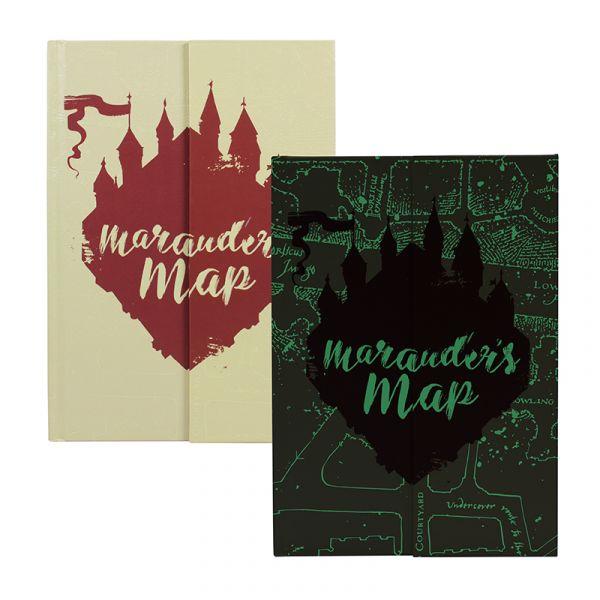 A5 Notebook - Harry Potter (Marauders Map)