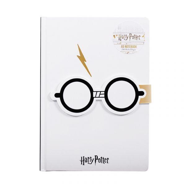 A5 Notebook - Harry Potter (Lightning Bolt)