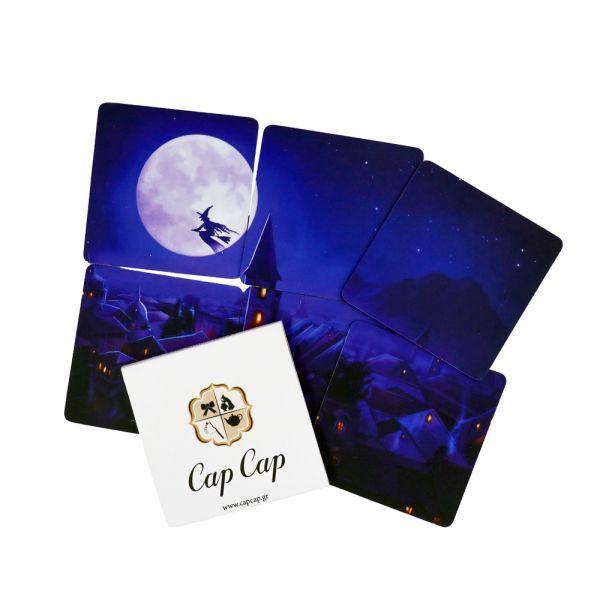 Cap Cap Coasters