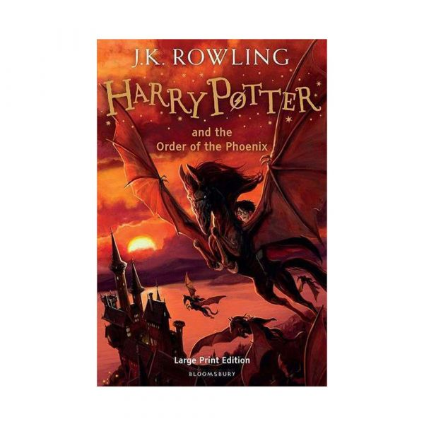 Harry Potter and the Order of the Phoenix-Large print hardback edition