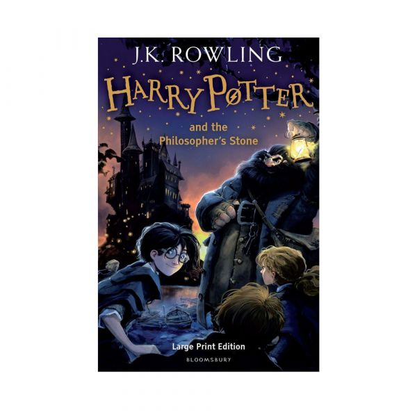 Harry Potter and the Philosopher's Stone-Large print hardback edition