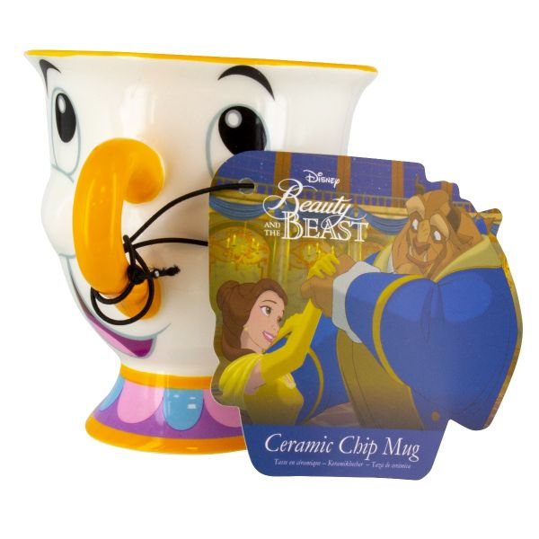 Beauty And The Beast Chip Mug