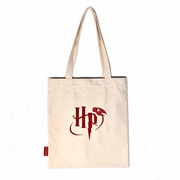 Shopper - Harry Potter (Hogwarts Crest One Colour)