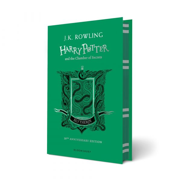 Harry Potter and the Chamber of Secrets-Slytherin hardback edition