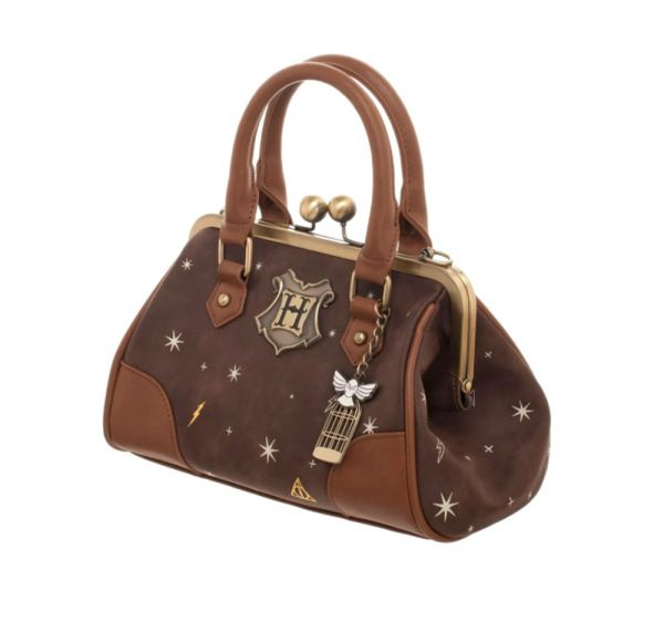Harry Potter Deluxe Handbag with Hedwig Pendant