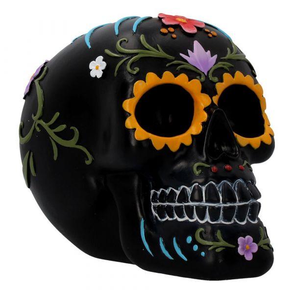 Floral Festivities Skull