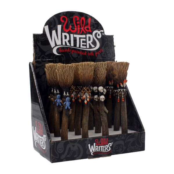 Wild Writers Broomstick Pen 16cm