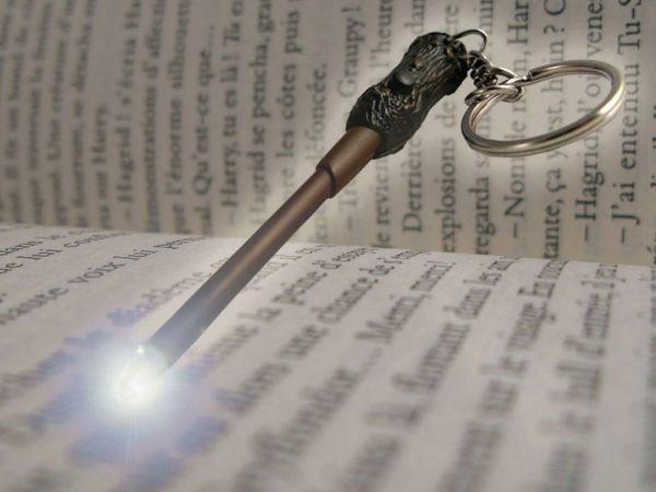 Harry Potter Μπρελόκ με φως