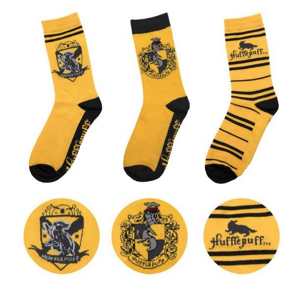 Σέτ κάλτσες Harry Potter - Hufflepuff