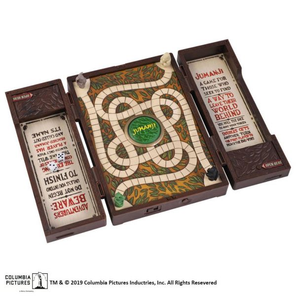 Jumanji Επιτραπέζιο Παιχνίδι Συλλεκτικό Μίνι Ρέπλικα