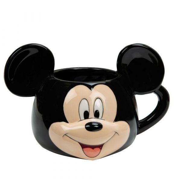 Disney 3D Earthenware Ceramic Mickey Mouse Mug